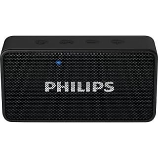 Philips BT64B/94 Portable Bluetooth Mobile/Tablet Speaker(Black, 1 Channel) with 1 year philips warranty
