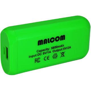 MALCOM 5600 MAH POWER BANK