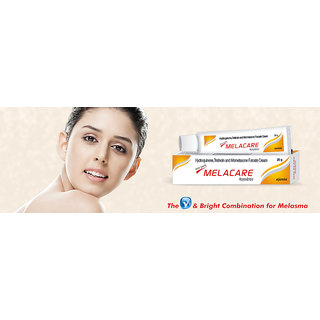 MELACARE Skin Whitening Cream(set of 4 pcs.)