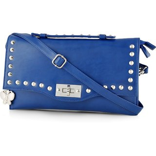 Butterflies Women ( Blue ) Sling Bag