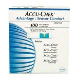 Accu Chek Advantage Sensor Comfort Test Strips 100 Strips En