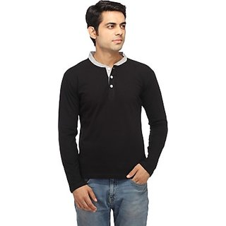 Zembo Wear Full Sleeve Henley T-shirt Cd-41