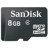 Sandisk 8GB Micro SDHC Class 4 Memory Card