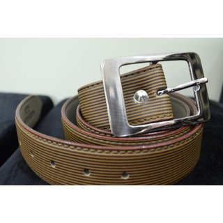 Mens Light brown Color Belt with Buckle