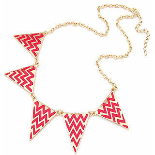 Shining Diva Fashion Geometrical Statement-CFJ2408np