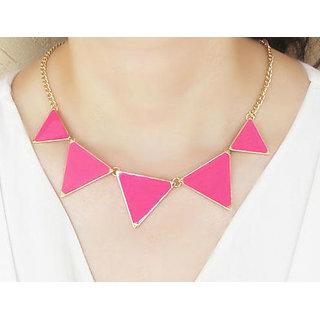 Shining Diva Fashion Triangle Statement-CFJ2372np