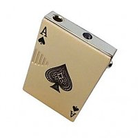 Cigarette Gas Lighter - Playing Cards (Ace) Card Lighter Liter