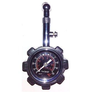 Autosky Analog Tire Pressure Gauge pc-6233 (100 psi)
