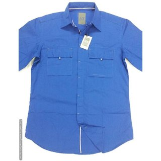 Original Imported Armani Exchange Casual Slim Fit Shirt