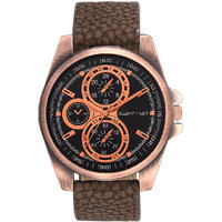 Arzent Fiarti Iconic Series Stylish Case Analog Black Dial Watch For Mens AF1011
