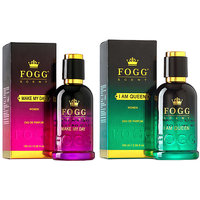 Fogg Scent Make My Day  I Am Queen (100 ml each) - For Women