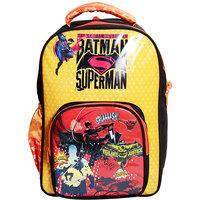 Priority Multi Color Batman Vs Superman Kids School Bag