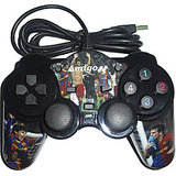 Amigo Dual Shock Pc  Usb Game Pad - Fifa Version  (sait 0003)