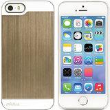 Ahha Jensen Metallic Back Case Cover For Apple IPhone 5S / 5 - Bullet Gold