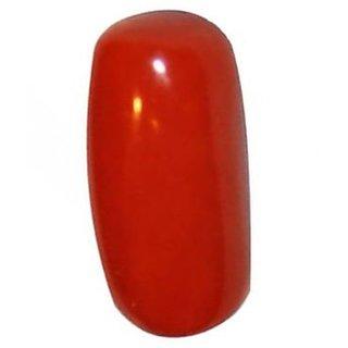 Jaipur Gemstone 4.00 ratti red coral(moonga) DEI566