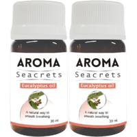 Biotrex Aroma Seacrets Eucalyptus Nourishing & Moisturizing Essential Oil (30ml) - Pack of 2