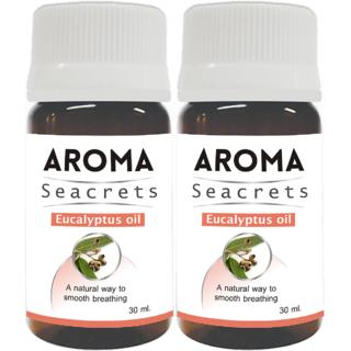 Biotrex Aroma Seacrets Eucalyptus Oil 30ml - Pack of 2