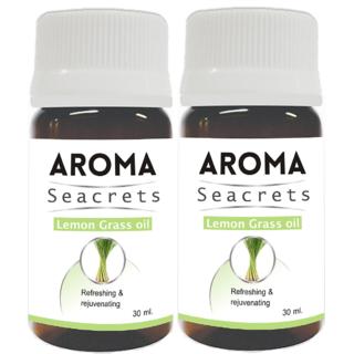 Biotrex Aroma Seacrets Lemon Grass Oil 30ml - Pack of 2