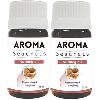 Biotrex Aroma Seacrets Nutmeg Oil 30ml - Pack of 2