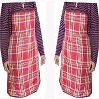 Buy Pack Of 2 Kitchen Apron Get 4 Kitchen Napkin Free - HANDLOOMDADDY