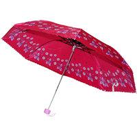 Flower Design Red Color Umbrella