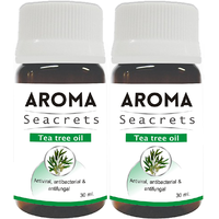 Biotrex Aroma Seacrets Tea tree Moisturizing and Rejuvenating Pure Essential Oil (30ml) - Pack of 2