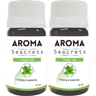Biotrex Aroma Seacrets Tulsi Oil 15ml - Pack of 2