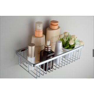 Stainless steel Bathroom Shelf 12x4x4
