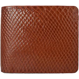 Moochies Gents Pure Leather Wallet,Size-10x12x2 CMS,Tan emzmoc2201tan