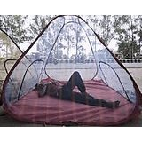 "Mosquito Net BIG SIZE 6""X6"" Tent Style WITH FREE CARRY BEG Portalbe Foldable Washable"