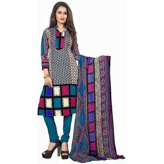 Lovely Look Multi Printed Un-Stitched Chudidar Suit LLKKFKPNDV33012
