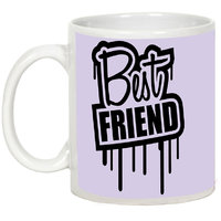 Friendship Day Gifts - AllUPrints Best Friends Are Just Amazing White Ceramic Coffee Mug - 11oz