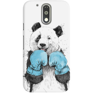 Dreambolic A Boxing Panda Graphic Back Covers