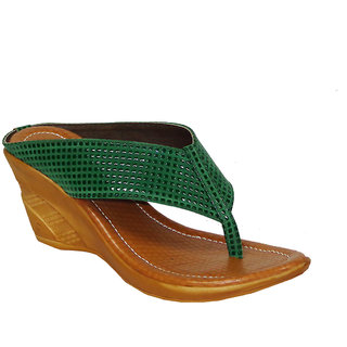 Liza Womens  Fashion Synthetic Green ( LIZA-1609 )