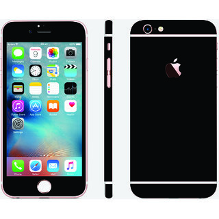 iphone 6s gloss black carbon split skin cover (front+back+sides)