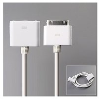 Female To Male Extension Data Cable For IPhone 4G/3G/3GS/iPod Touch/iPod Nano
