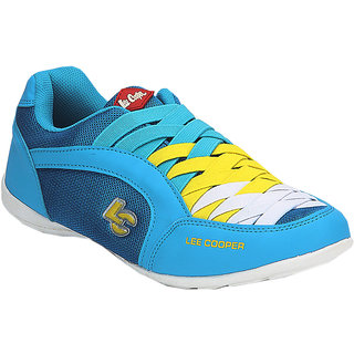 Lee Cooper Womens LF0430 Blue Sports Shoes Size-36