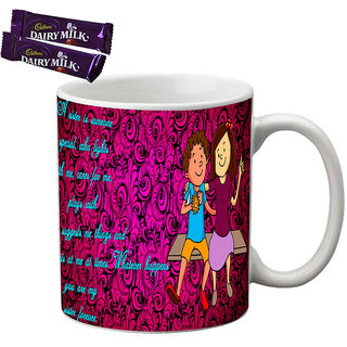 meSleep Bro  Sis Rakhi Mug With Chocolates