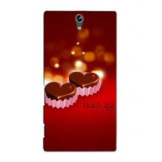 Instyler Premium Digital Printed 3D Back Cover For Sony Xperia C5