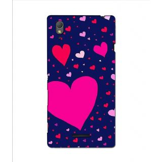 Instyler Premium Digital Printed 3D Back Cover For Sony Xperia T3