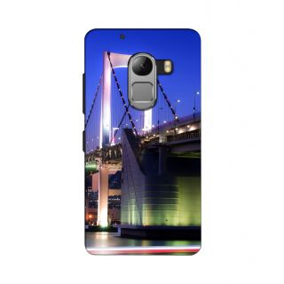 Instyler Premium Digital Printed 3D Back Cover For Lenovo A7010
