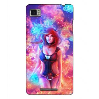 Instyler Premium Digital Printed 3D Back Cover For Lenovo Vibe Z K910