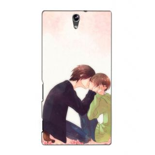 Instyler Premium Digital Printed 3D Back Cover For Sony Xperia C5 Dual