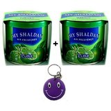 Combo My Shaldan Air Freshener Perfume Lime+Lime Flavour Free Smiley Key Chain.