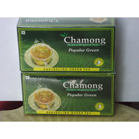 Green Tea Bags - Chamong Popular Green Tea Pack Of 2 (25x2=50 Tea Bags)