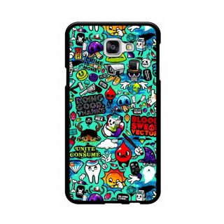 Instyler Digital Printed Back Cover For Samsung Galaxy A5(2016)