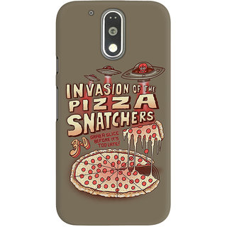 Dreambolic Invasion Of The Pizza Snatchers Graphic Back Covers