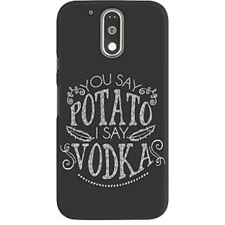 Dreambolic You Say Potato  I Say Vodka Graphic Back Covers