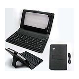 7 Tablet Case With Bluetooth Keyboard Leather Case
