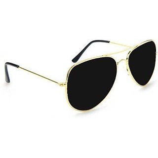 Victoria Secret Black UV Protection Aviator Unisex Sunglasses